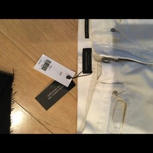 Banana Republic Shorts - Banana Republic mid rise white jean short 25P NWT